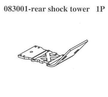 083001 Rear Crash Barrier