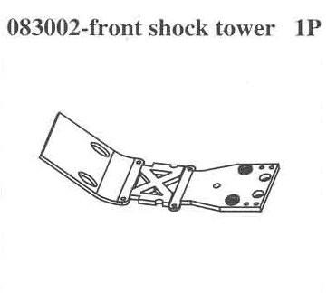 083002 Front Crash Barrier