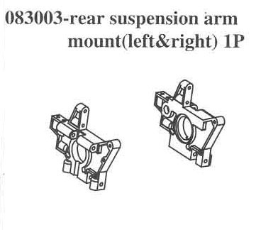 083003 Rear L/F Swing Arm Mount