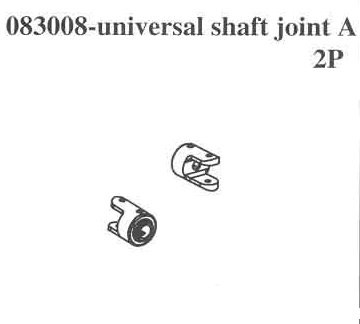 083008 Universal Shaft Head