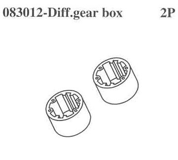 083012 Differential Gear Casing