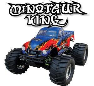 083410 Minotaur King 4WD Off-road Turck ( 2 Channel 27 Mhz AM Pistol Radio)