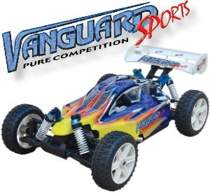 083420 Vanguard Sports 4WD Off-road Buggy (2 Channel 27Mhz AM Pistol Radio)