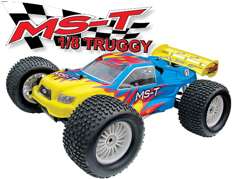 08T421-1 MS-T 4WD Truggy (2CH 2.4 G Digtal Pistol Radio)