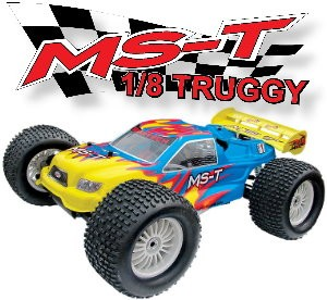 08T421 MS-T 4WD Truggy (2 Channel 27 Mhz AM Pistol Radio)