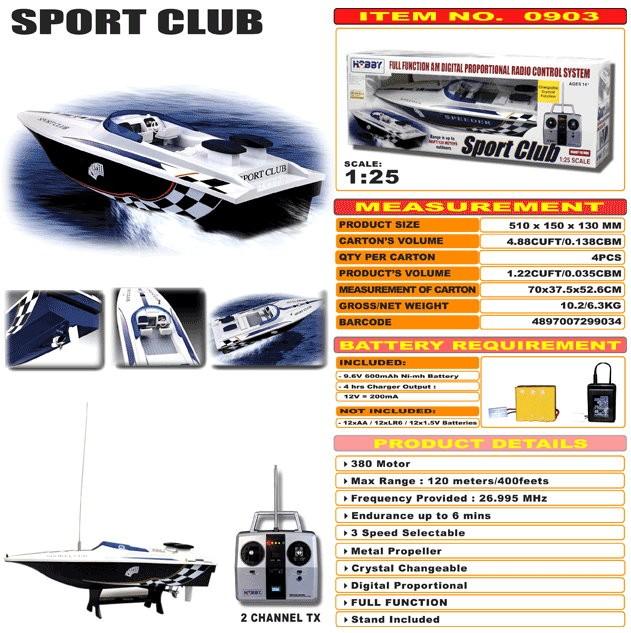 JHC0903 - Sport Club