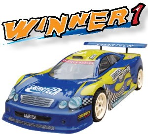 101420-1 Winner 1 4WD On-road Car (2CH 2.4G Digtal Pistol Radio)