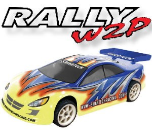 102430 Rally2 4WD Electric-powered On-road car (2 Channel AM Radio)