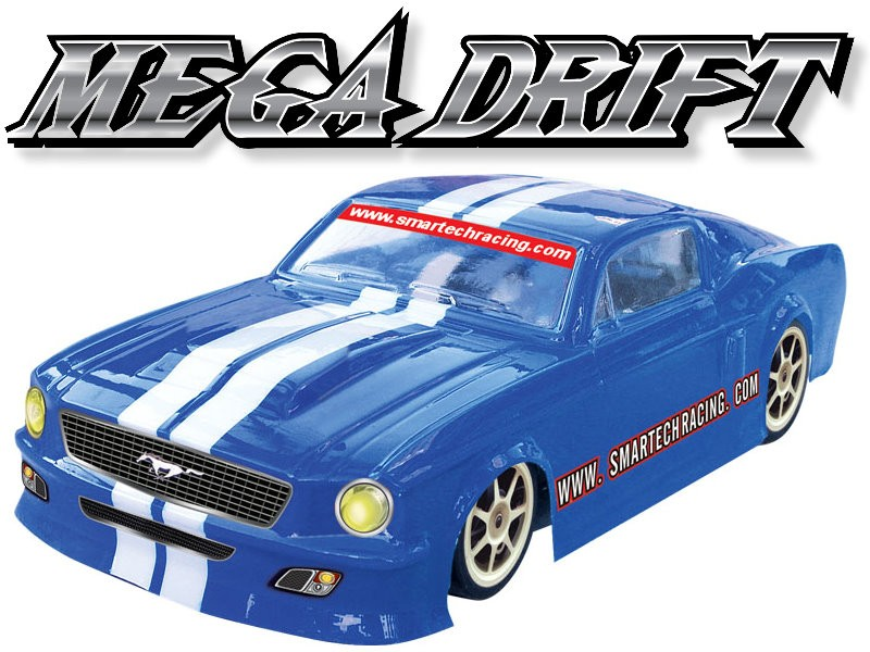 102471-1 Mega Drift 4WD Electric-powered On-road Car (2CH 2.4G Digtal Pistol Radio)