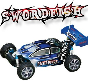103450 Swordfish 4WD Off-road Buggy  (2 Channel AM Radio + Rec)