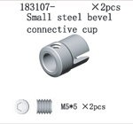 183107 Small Steel Bevel Connecting Cup
