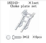 183143 Choke Bracket Set