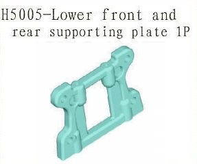 H5005 Rear and Front Lower Supporting Plate