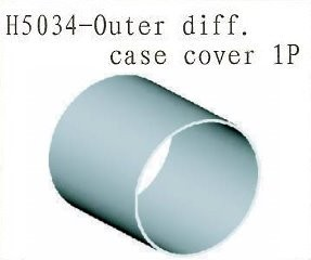 H5034 Outer Differential Case Cover