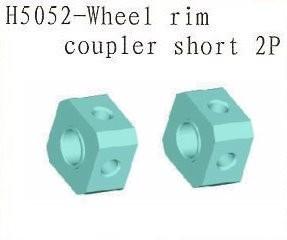 H5052 Wheel Rim Coupler Short