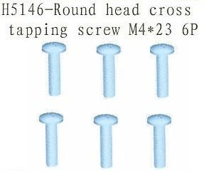 H5146 Round Head Cross Tapping Screw M4*23