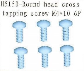 H5150 Round Head Cross Tapping Screw 4x10