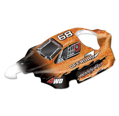 H801 1:8 Matador Off Road Buggy Body - Orange