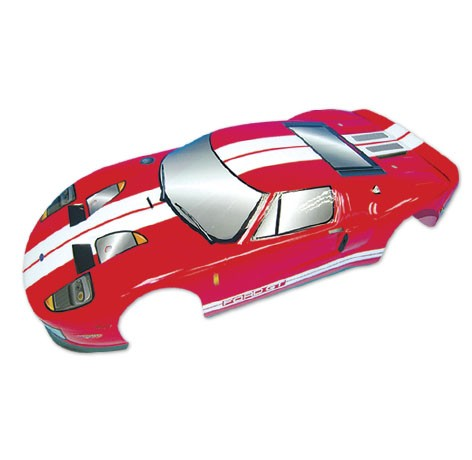 H12 1:10 Ford GT On Road Body - Red