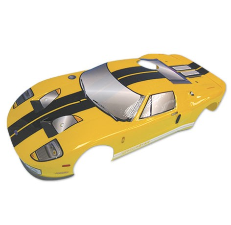 H12 1:10 Ford GT On Road Body - Yellow