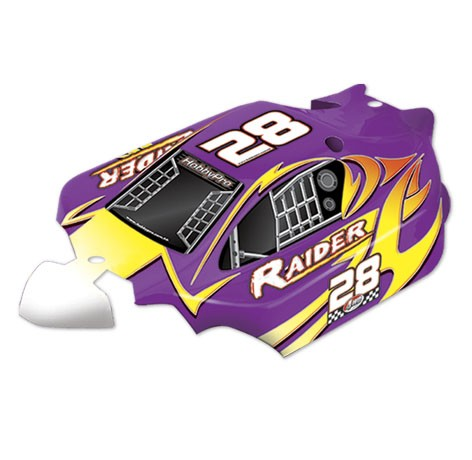 H219 1:10 Raider Off Road Buggy Body- Purple