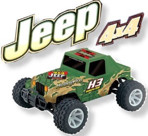 H3 1:10 Off Road Jeep