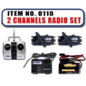 JHC0110 - 2 Channels Radio Set