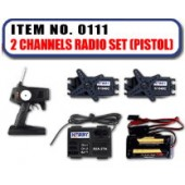 JHC0111 - 2 Channels Radio Set [Pistol]
