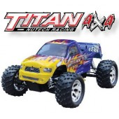 053410 Titan 4x4 Monster Truck(2 Channel 27 Mhz FM Pistol Radio)