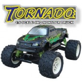 063410 Tornado 4WD Monster Truck(2 CHN 27 Mhz AM Pistol Radio)