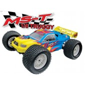 08T421-1 MS-T 4WD Truggy (Futaba OEM 2-CHN 27 Mhz AM Pistol Radio)