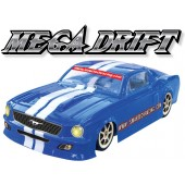 102471 Mega Drift 4WD Electric-powered On-road Car (Futaba OEM 2CHN 27 Mhz AM Pistol Radio)