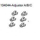 104044 Adjuster A/B/C x 2 of each