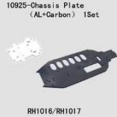 10925 Chassis Plate(Al.+Carbon)