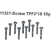 11321 Screw TPF3*18 10PCS