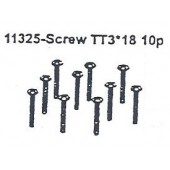 11325 Screw TT3*18 10PCS