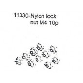 11330 Lock Nut M4 10PCS