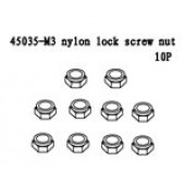 45035 M3 Nylon Lock Screw