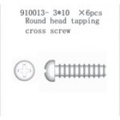 910013 Round end Crossing Screw PT3*10