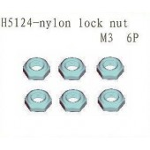 H5124 Nylon Lock Nut M3
