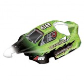 H803 1/8 REAR WING-Black