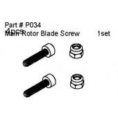 P034 Main Rotor Blade Screws