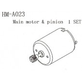 HM-A023 Main Motor & Pinion