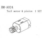 HM-A024 Tail Motor & Pinion