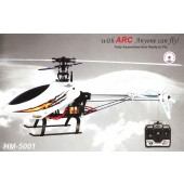 HM-5001-1RTF - 6 Channel 3D PRO Helicopter / Raptor 480-Size