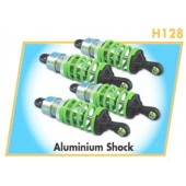 H128 Aluminum Oil-Filled Shocks