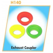 H140 Silicone Exhaust Coupler