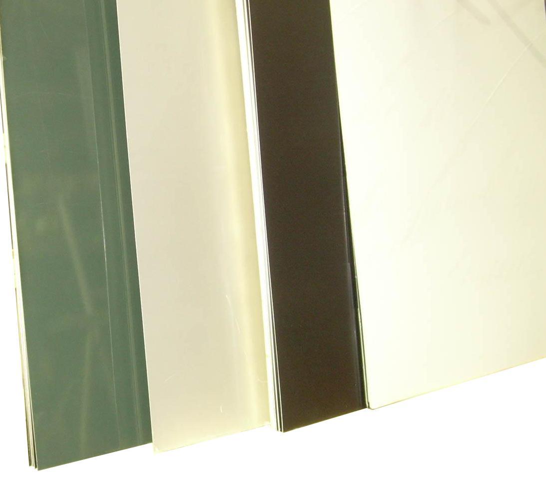 """Prefinished .040"""" Aluminum Sheets"""