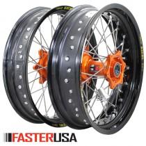 KTM Supermoto Wheelset FasterUSA / Excel