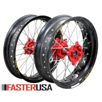 Honda Supermoto Wheelset FasterUSA / Excel CR/CRF/CRX/L